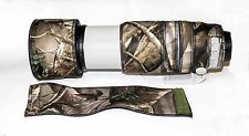Canon 100 400mm IS Mk2 Neoprene Lens ZOOM TUBE COVER in neoprene camo.