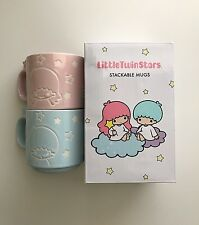 Sanrio Loot Crate Little Twin Stars Stackable Mugs Exclusive