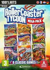Rollercoaster Tycoon Mega Pack - PC DVD - New & Sealed
