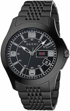 GUCCI G-Timeless Black Steel Gents Watch YA126202 - RRP £650 - BRAND NEW