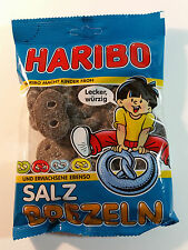 HARIBO SALZ BREZELN - CANDY WINE GUMS 7oz - 200g - MADE IN GERMANY -