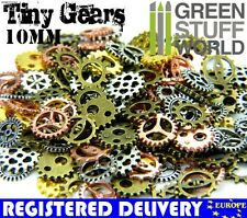 Steampunk Set 85 gr - Cogs and Gears - 10mm Size XS - Scrapbooking Beads