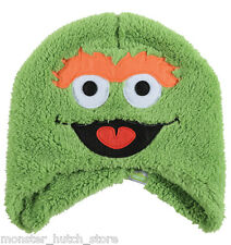 BRAND NEW WITH TAGS Neff GROUCH Beanie GREEN LIMITED RELEASE SESAME STREET RARE