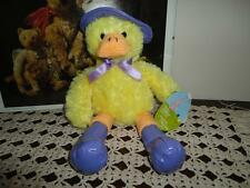 Walmart Canada Happy Easter DUCK in Raincoat & Boots 11 inch