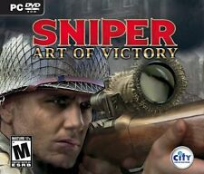 Sniper: Art of Victory - (PC-CD) BRAND NEW SEALED OEM BOX