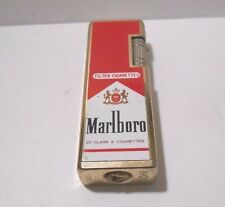 RETRO *RARE* HQL MARLBORO  BAR TYPE BUTANE CIGARETTE LIGHTER - SPARKS