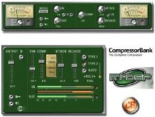McDSP CompressorBank - ProTools Plug-In ** BRAND NEW **