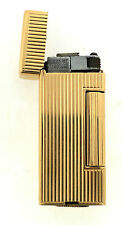 STYLISH 14K YELLOW GOLD DUNHILL C.1960 LIGHTER USA PATENT MUST HAVE STAMPED