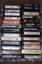 8 TRACK TAPE LOT OF 26  TAPES - MOSTLY ROCK