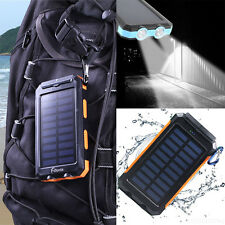 300000mAh Solar Panel Charger Battery Portable Power Bank Backup Waterproof  UK