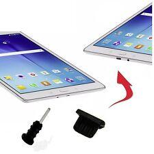 4 X Staub Schutz Stöpsel Huawei Ideos S7 Slim 7 MICRO USB AUX Eingang schwarz