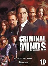 Criminal Minds Complete Series 10 DVD All Episodes from 10th Season UK Rel New