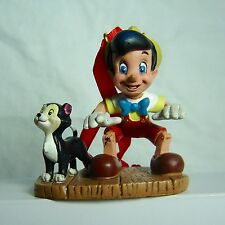 Sketchbook Christmas Ornament Pinocchio & Figaro the Cat Disney Store