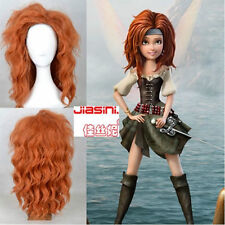 Disney Tinker Bell and Pirate Fairy Style Fluffy Curly Cosplay Wigs Cos Wig/Hai