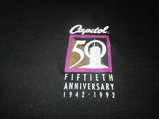 CAPITOL RECORDS 50TH ANNIVERSARY VINTAGE TEE SHIRT UNUSED BEATLES RELATED NICE