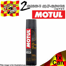 1x A2 Motul Air Filter Oil Spray Motocicleta Moto X Cruz Scrambler Pit Bike Quad