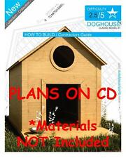 DOG HOUSE PLANS - Step By Step CAD Drawings - How To Build a Doghouse Guide - 01