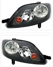 For Volkswagen Golf Plus MK5 2005 - 2009 Headlights Headlamps 1 Pair O/S And N/S