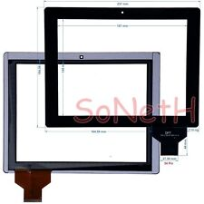"Vetro Touch screen Digitizer 9,7"" Mediox MID9742 Tablet PC Nero"