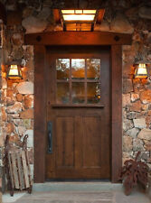 "SUNDANCE STYLE CRAFTSMAN KNOTTY ALDER ENTRY DOOR 42"" x 80"""