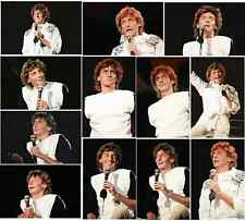 25 Barry Manilow colour concert photographs - Blenheim 1983