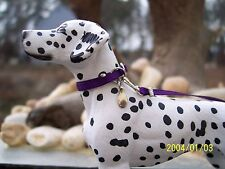 Jaapi PURPLE large dog collar - fits Breyer Companion Animal, not for real dogs