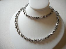 Beautiful Heavy Sterling Silver 4.7 MM Chain Necklace   405858