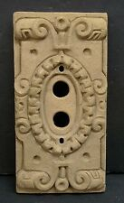 Vintage Ceramic Push Button Light Switch Plate (1)