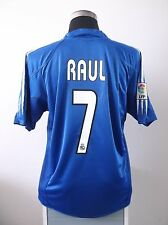 RAUL #7 Real Madrid Third Football Shirt Jersey 2004/05 (L)