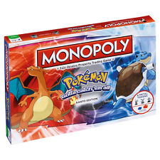 POKEMON KANTO EDITION MONOPOLY BOARD GAME *BRAND NEW*