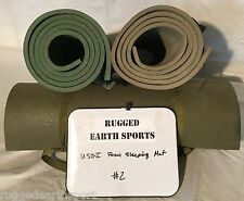USGI US Military Surplus Foam Sleeping Bag or Exercise Mat Pad - Good Conditon
