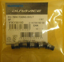 SHIMANO DURA ACE FC-7900 Fixing Bolt Set of 5