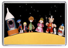 Button Moon Fridge Magnet 01