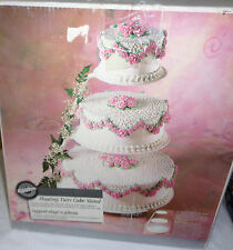 Wilton 3-Tier Round Floating Tiers Cake Stand