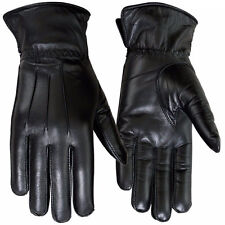 Winter Dress Gloves Womens Thermal Linning Sheep Leather Ladies Glove Black 6-XS