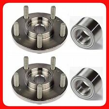 FRONT WHEEL HUB & BEARING FOR MAZDA 3,5 2005-2011 WITH ABS PAIR FAST SHIPPING