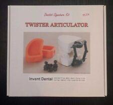 Twister Articulator dentist signature kit dental lab retail $89.99