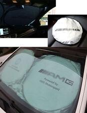 Auto Vorne Hinten Seiten Scheibe sonnenschutz Sonnenschutz set für AMG150cm*70cm