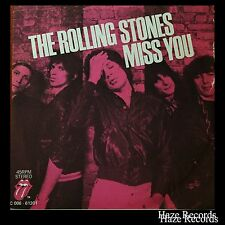 "THE ROLLING STONES Miss You / Faraway Eyes"" Picture Cover Single"