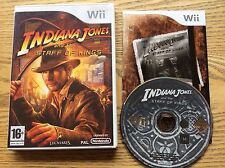 Indiana Jones And The Staff Of Kings Wii Game! Complete! Look At My Other Games!