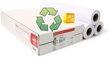 3 rolls Recycled 80g/m Inkjet Plotter Paper A0 841mm x 50mtr NEXT DAY Delivery