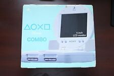 "Playstation 1 PSone 5"" LCD Combo Console SCPH-100 boxed Japan System US Seller"