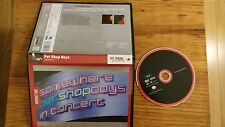 PET SHOP BOYS  SOMEWHERE IN CONCERT DVD PAL REGION 0 ALL REGIONS