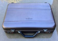 "Samsonite Carrying Case Attache for 17"" Notebook Aluminum Gunmetal 940088OD"