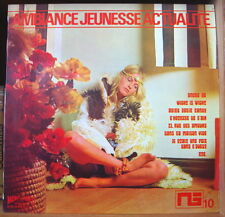 ALAN CRAWFORD AMBIANCE JEUNESSE ACTUALITE CHEESECAKE COVER FRENCH LP