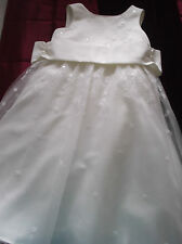 Splendid Ivory Embroidered/Sequin Bridesmaid/Flower Girl/Party Dress 2Yr SPECIAL