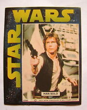 Star Wars Rare Early General Mills cereal sticker card 1977 Han Solo 1216