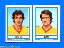 CALCIATORI 1973-74 Panini - Figurina-Sticker n. 455 -PETRINI-RIZZO CATANZARO-Rec