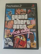 Grand Theft Auto Vice City GTA Sony Playstation 2 PS2 Complete In Box Tested