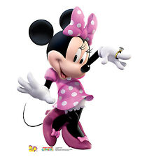 MINNIE MOUSE Disney Clubhouse Dancing CARDBOARD CUTOUT Standee Standup Poster